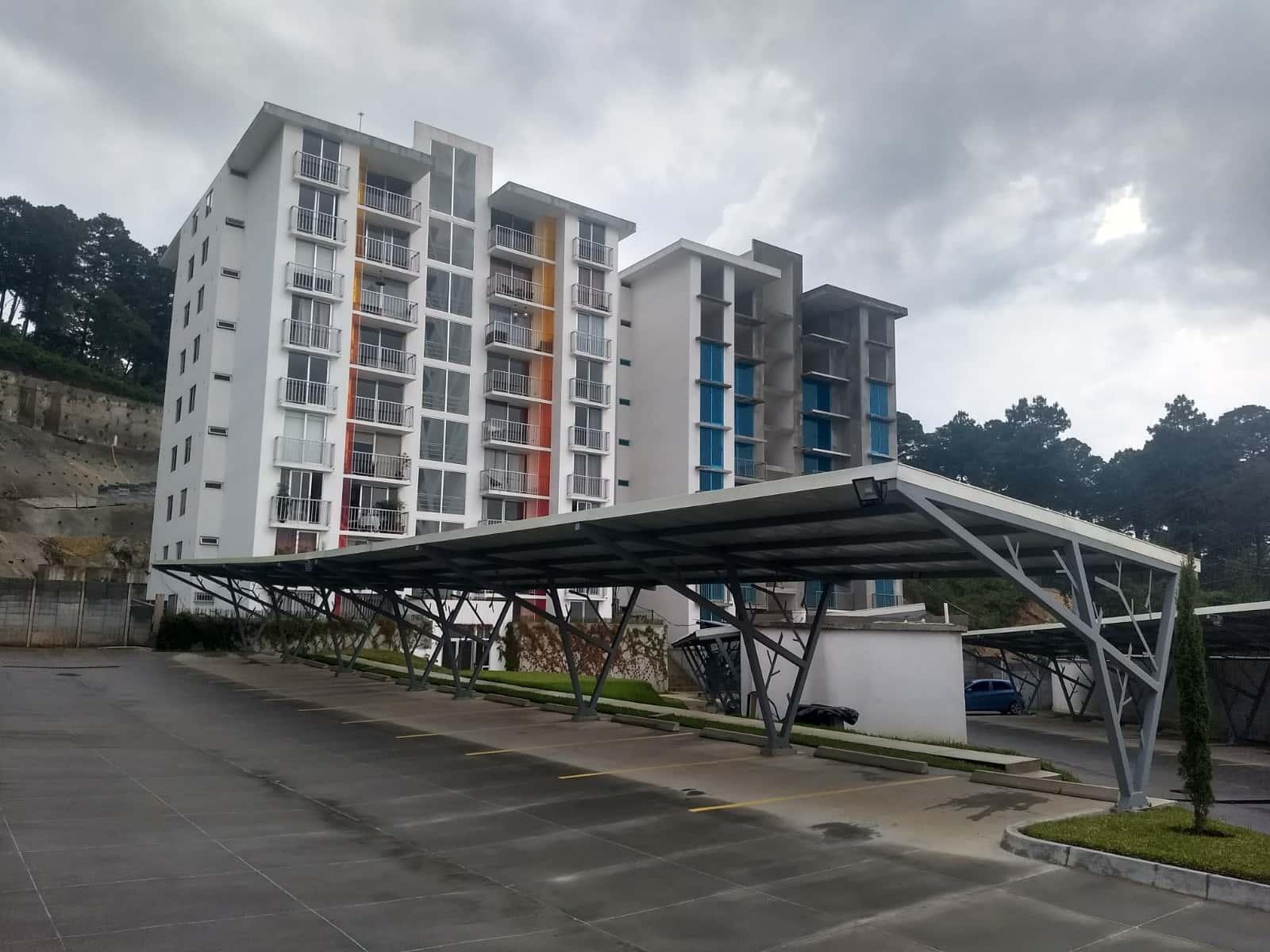 Apartamento en zona 16, Edificio  Sol Verde