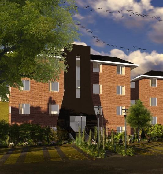 Proyecto de apartamentos Ca�ada 16