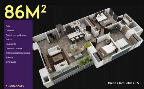 Apartamento en venta en  Edificio Tres15 zona 13