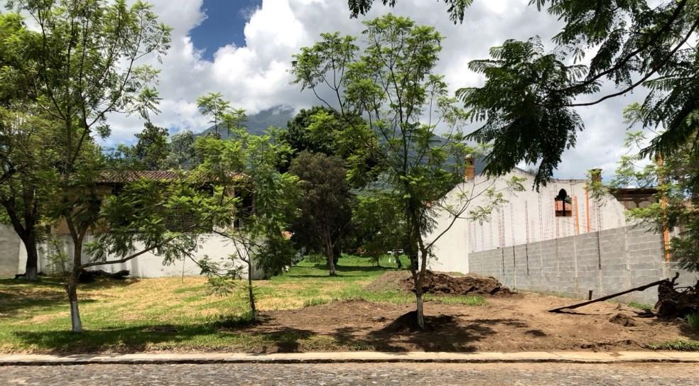 Terreno en el Casco de Antigua Guatemala