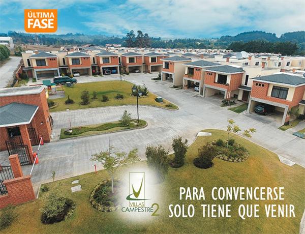 Casas en venta en Villas Campestre 2, Carretera al Salvador km 22.7