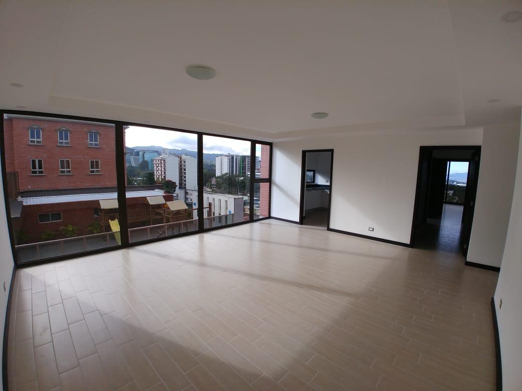 Apartamento en venta para estrenar en Edificio Doral zona 15
