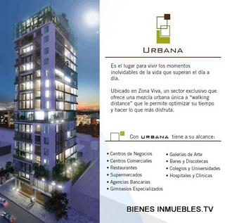 Apartamentos en venta en edificio Urbana, zona 10