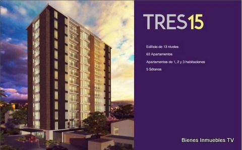 Proyecto de Apartamentos Tres 15
